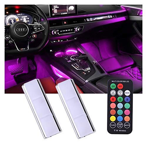 YEJUN Wireless Interior Car Lights,Wireless Car Led Strip...