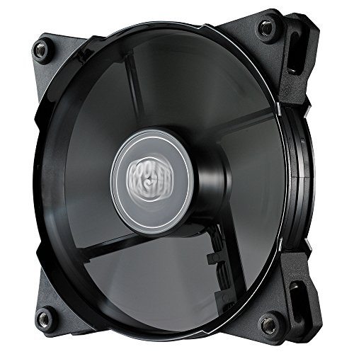 Cooler Master JetFlo 120 - POM Bearing 120mm High Performance Silent...