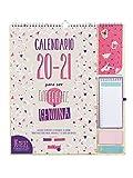 Finocam - Calendario de Pared 16 Meses 2020-2021 340x380 Mes Vista Talkual Plus Español