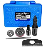 STKUSA Stark Universal 16 in 1 Adjustable Disc Brake Caliper Wind Back Remover Tools with Carrying Case
