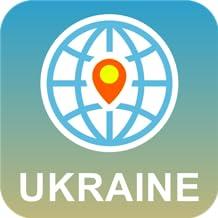 Ucrania Mapa Desconectado
