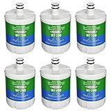 Aqua Fresh 5231JA2002A Refrigerator Water Filter Replacement for LG LT500P, ADQ72910911, GEN11042FR-08, HDX FML-1, LSC27925ST, LFX25974ST (6 Pack)