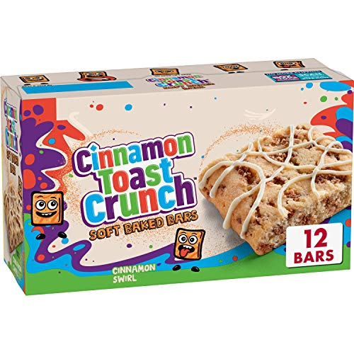 Cinnamon Toast Crunch Crunch Soft Baked Bars, 12 ct (Pack of 4)