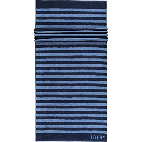 Joop! Saunatuch Classic Stripes 1610 | 14 Navy - 80 x 200