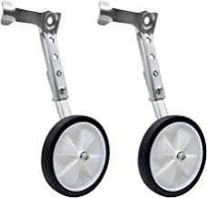 Mediawave Store - Par de ruedas estabilizadoras para entrenamiento de bicicleta de 16 a 24 pulgadas, ruedas universales, ruedas suplementarias laterales para bicicleta.