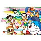 puzzles De Madera Doraemon 1000 Piezas Juguetes Educativos De Dibujos Animados Doraemon para Adultos Y Niños Regalos De Cumpleaños(Color:mi)