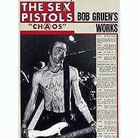 SEX PISTOLS セックスピストルズ (デビュー45周年記念) - 絶版 BOB GRUENS WORKS CHAOS/写真集