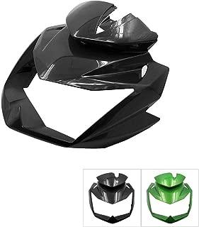 Motoparty Z750 Head Fairing Cowl Nose Cowl For Kawasaki Z-750 Front Head Fairing Cowl 2007-2012,Black