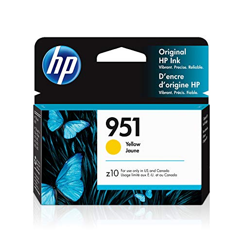 HP 951 | Ink Cartridge | Works with HP Officejet Pro 251dw, 276dw, 8600 Series, 8100 | Yellow | CN052AN