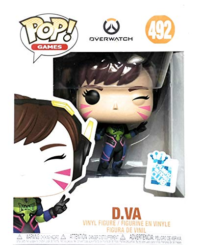 Funko Pop! Games: Overwatch - D.Va (Nano Cola) Exclusive