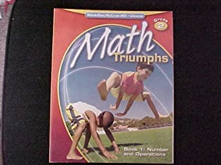 Math Triumphs, Grade 2, Student Study Guide, Book 1: Number and Operations