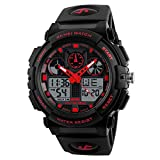 SKMEI Black Coloured Strap Digital Men's Watch