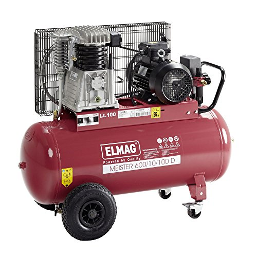 Elmag MEISTER 600/10/100 D - Kompressor
