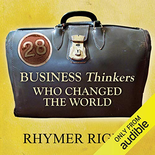 28 Business Thinkers Who Changed the World audiobook cover art
