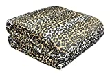 tex family Trapunta Leopardata MACULATA Dis. Leopardo PIUMONE Made in Italy - 2 PIAZZE