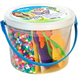 Perler Sunny Days Bright Color Fuse Bead Bucket, 5504 pcs
