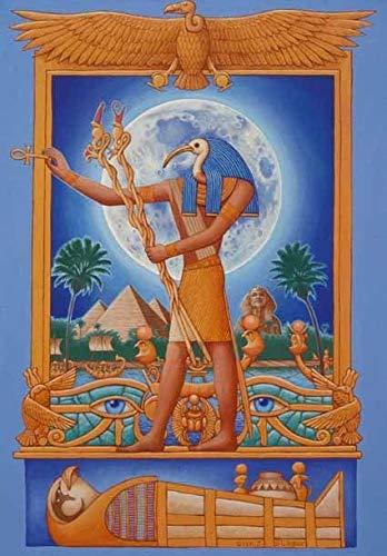 Puzzle 1000 Piezas Regalo de decoración de Imagen de Dios Egipcio Anubis Puzzle 1000 Piezas clementoni Rompecabezas de Juguete de descompresión Intelectual Educativo Divertido jueg50x75cm(20x30inch)