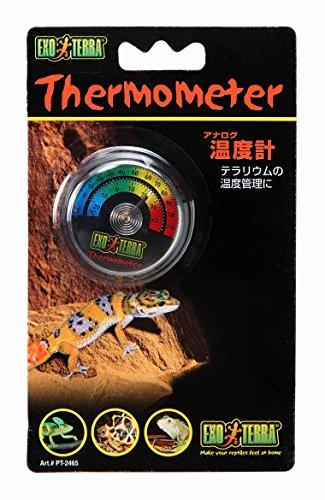 エキゾテラ アナログ温度計 PT2465amazon参照画像