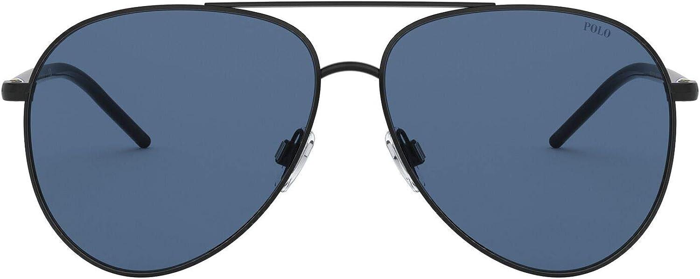 Polo Ralph Lauren Men's Ph3131 Aviator Sunglasses