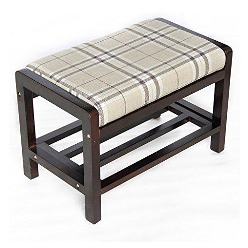 Gewatteerde voetenbankje, gewatteerd voetenbankje, sofakruk, stoelkruk, draagbaar, voor thuis, ruimtebesparende multifunctionele bankkruk, moderne minimalistische montage, eenvoudige schoenenkast