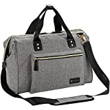 Diaper Bag, RUVALINO Large Diaper Tote Stylish for Mom and Dad...