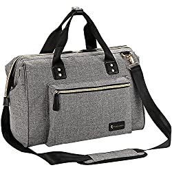 top rated Changing bag, large RUVALINO changing bag Stylish convertible baby travel bag for moms and dads … 2021