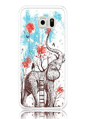 S6 Case Hard PC Cover Protective Case for Samsung Galaxy S6 Creative Drawing