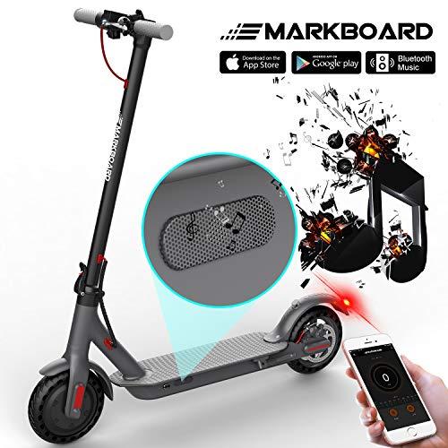 MARKBOARD Trottinette Electrique Pliable, Electric Scooter Batterie...