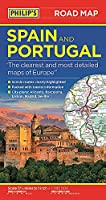Philip's Spain and Portugal Road Map (Philip's Sheet Maps)