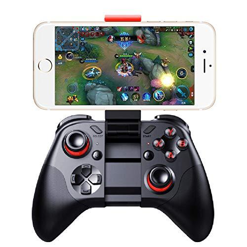 STHfficial Gamepad Teléfono Joypad Bluetooth Android Joystick PC Control Remoto Inalámbrico VR Game Pad para VR Smartphone Smart TV