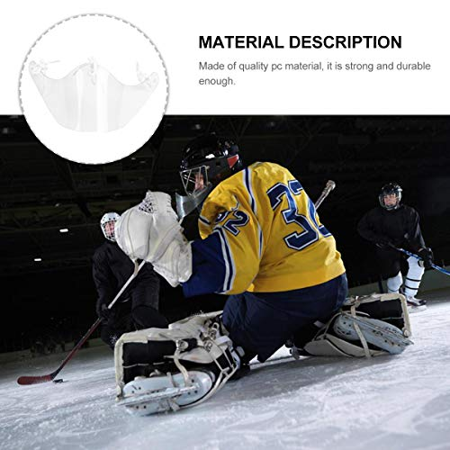 Abaodam Hockey Gear Hockey Goalie Helmet Neck Guard Protection Equipment