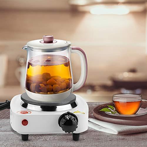 Elektrisk bänkspis, uppvärmning och uppvärmning Justerbar temperatur Bärbar elektrisk spis, kaffespis 220v 50-60Hz 500w för kontor
