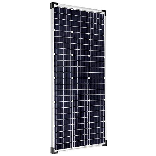 Offgridtec - Módulo solar monocristalino (100 W, 36 V, ideal para carga de batería de 12 V y 24 V)