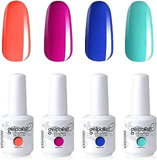 Vishine Nail Art UV LED Gel Polish Soak Off Manicure Varnish Gift Kit C250