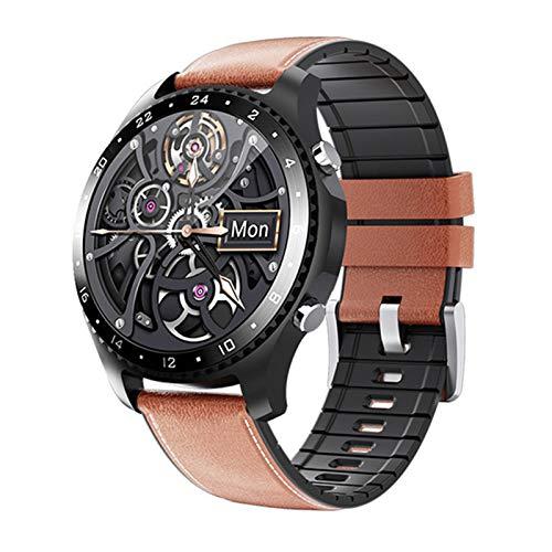 FZXL Medición De La Temperatura Corporal CK30 Smart Watch Bluetooth Call Heart Rate Presión Arterial Monitoreo De Oxígeno De Sangre GPS Deportes Pulsera Inteligente,B