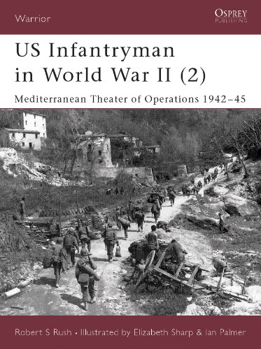 US Infantryman in World War II (2): Mediterranean Theater of Operations 1942–45 (Warrior Book 53) (English Edition)