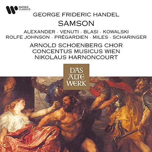 Samson, HWV 57, Act II, Scene 1: Recitative. 'Trust yet in God! Thy father's timely care' (Manoah, Samson, Micah)