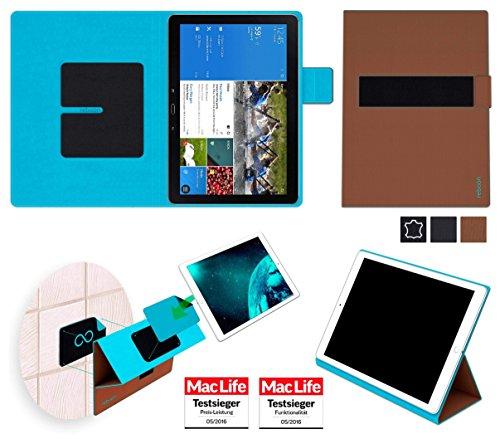 reboon Hülle für Samsung Galaxy Tab Pro 12.2 LTE Tasche Cover Case Bumper   in Braun   Testsieger
