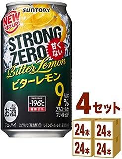 サントリー -196℃ ストロングゼロ〈ビターレモン〉 350ml ×96本(個)
