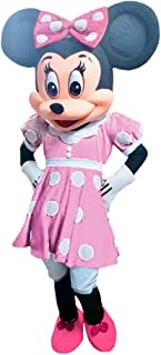 Minnie Mouse Pink Clubhouse Mascot Character Kids Birthday Halloween Cosplay