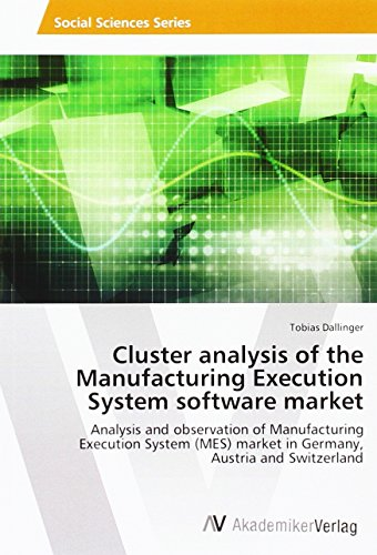 Cluster analysis of the Manufacturing Execution System software market: Analysis and observation of Manufacturing Execution System (MES) market in Germany, Austria and Switzerland