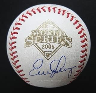 Evan Longoria Signed World Series Baseball