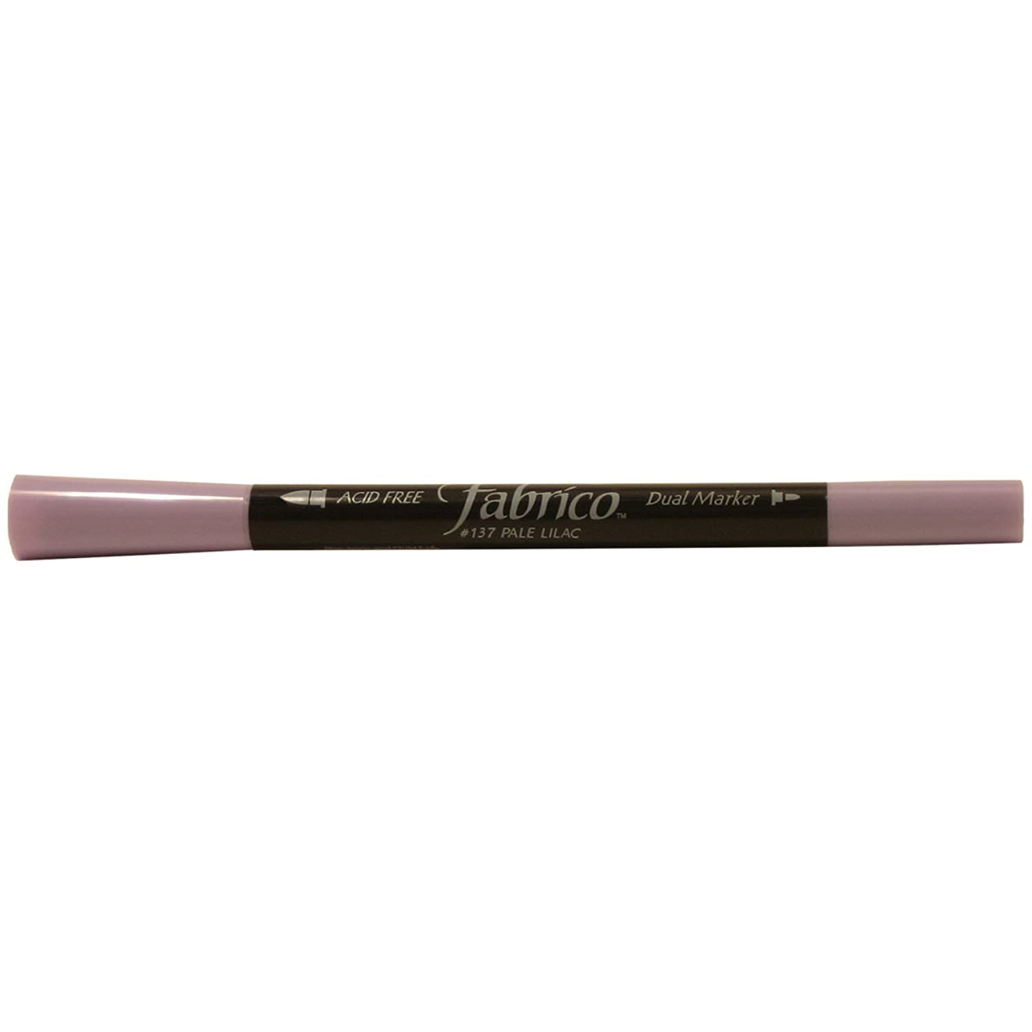 Tsukineko Dual-Ended Fabrico Marker Color-Fast, Pale Lilac