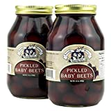 Amish Wedding Foods Pickled Baby Beets 2 - 32 oz. Jars