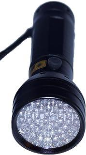 紫外線ライト ブラックライト UV 51LED (ブラック)