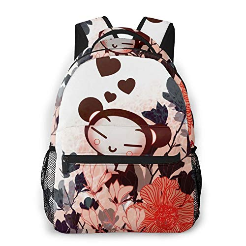 Universal Fashion Multi-Functional Backpack, Portable Carry Pu.Cca Animation Design School Bag