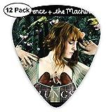 Púas de guitarra Florence And The Machine Lungs (paquete de 12) para guitarra eléctrica