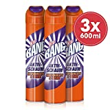 CILLIT BANG Aktivschaum Seifenreste & Glanz – Ultra effektiver Schaumreiniger, für Dusche und Bad – Reinigung ohne Nachwischen – 3 x 600 ml