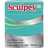 Sculpey III Polymer Oven-Bake Clay, Teal...