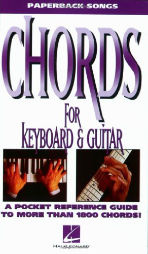 Chords For Keyboard And Guitar: Buch für Gitarre, Keyboard (The Paperback Songs Series)